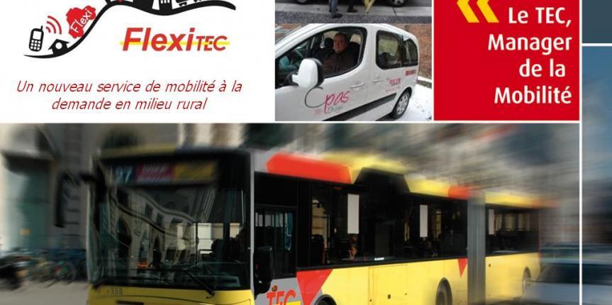Flexi-TEC, une solution innovante pour la mobilité rurale.