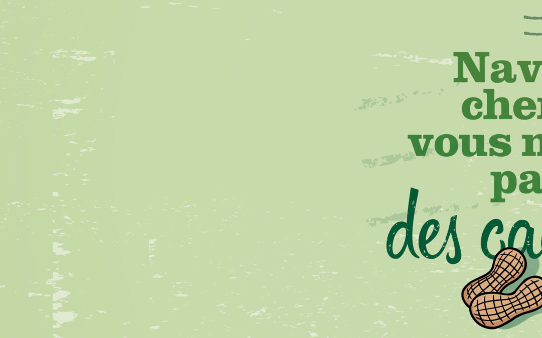 SAINT-VALENTRAIN : NAVETTEURS, CHEMINOTS, VOUS NE COMPTEZ PAS POUR DES CACAHUETES !