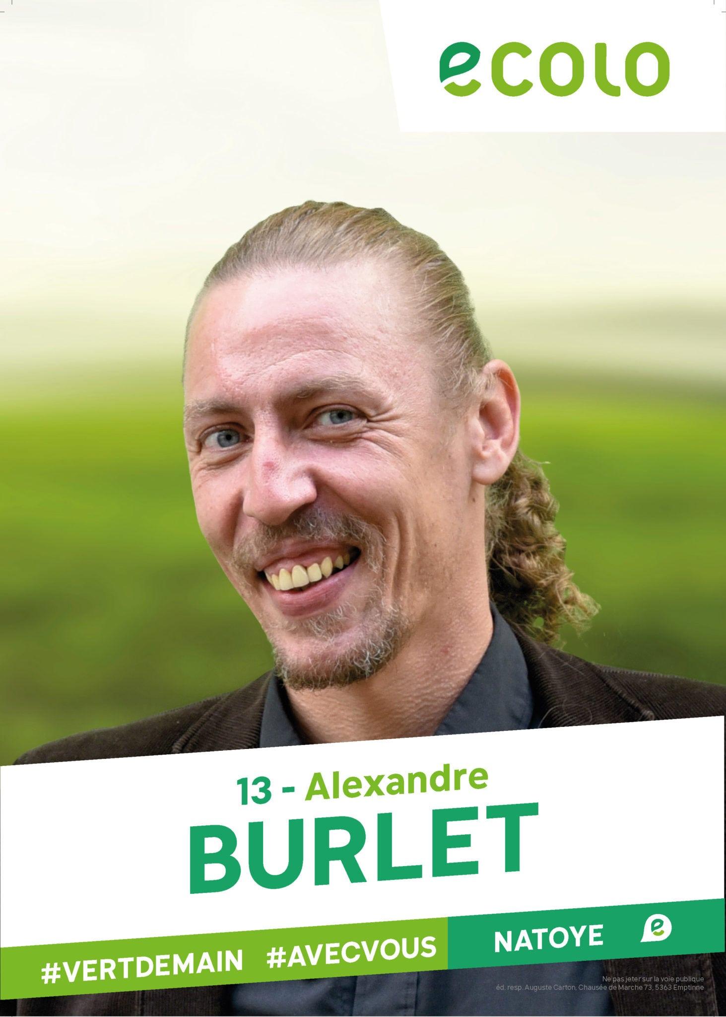 13 - Alexandre BURLET