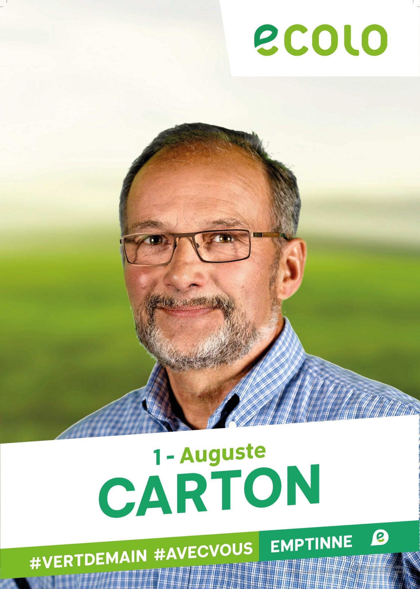 1 - Auguste CARTON