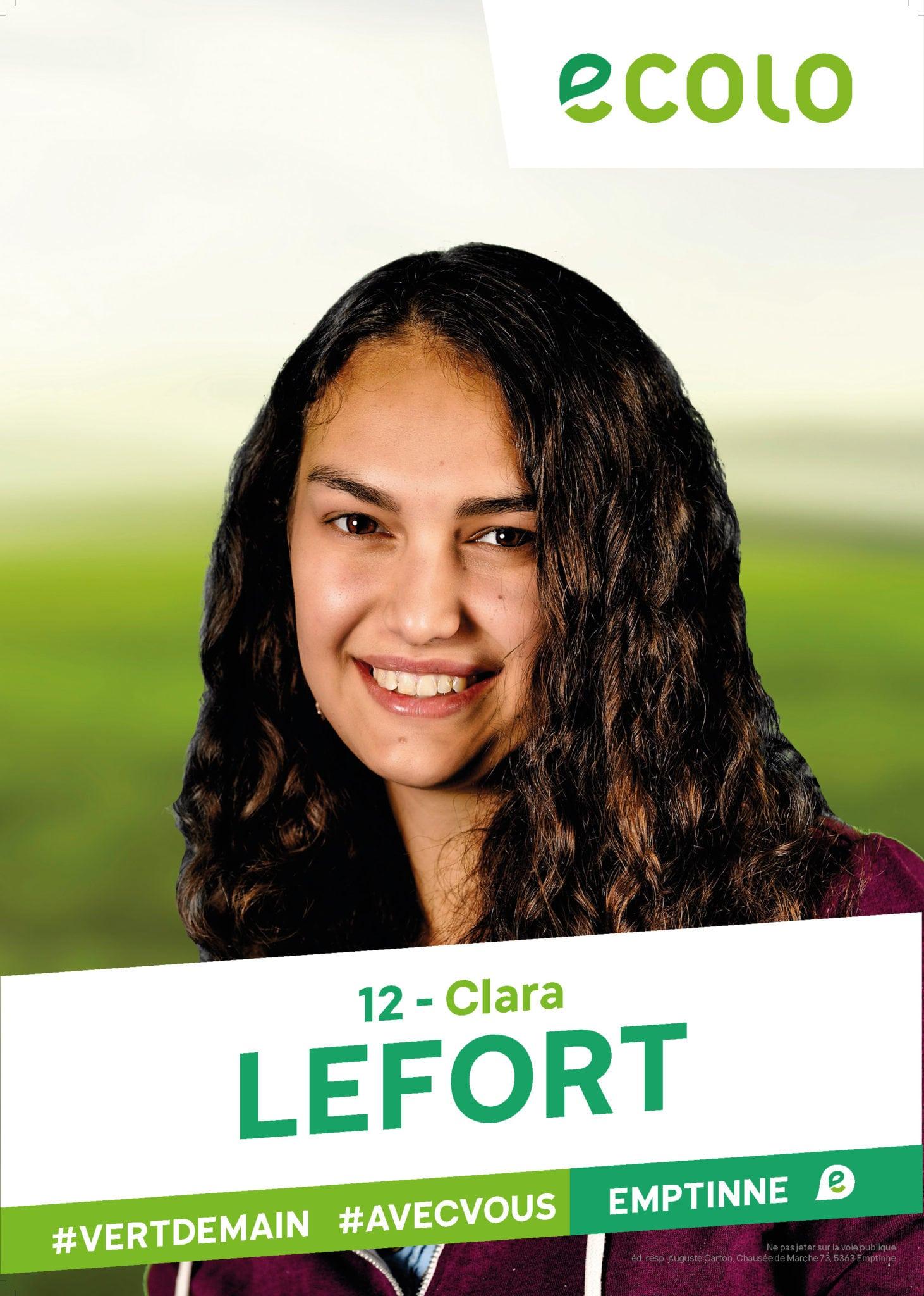 12 - Clara LEFORT