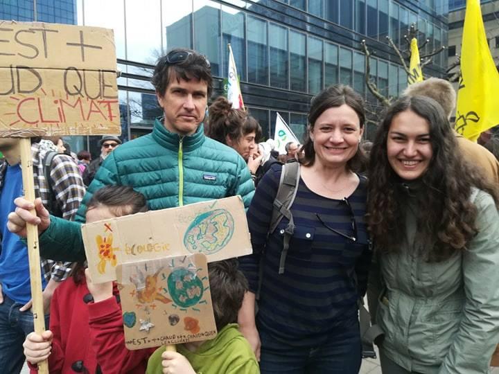 Marches pour le climat : Ecolo Hamois toujours là !
